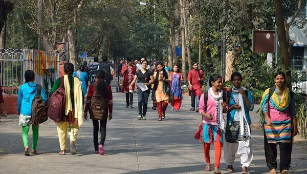 Campus Road - Jadavpur University - Kolkata - Sputnik International
