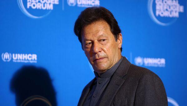 Pakistan's Prime Minister Imran Khan arrives for the Global Refugee Forum at the United Nations in Geneva, Switzerland, December 17, 2019 - Sputnik International