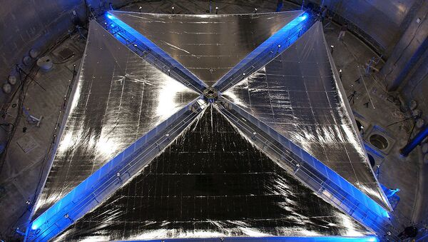 Solar sail - Sputnik International