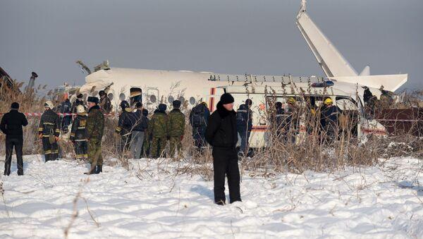 Kazakhstan Plane Accident - Sputnik International