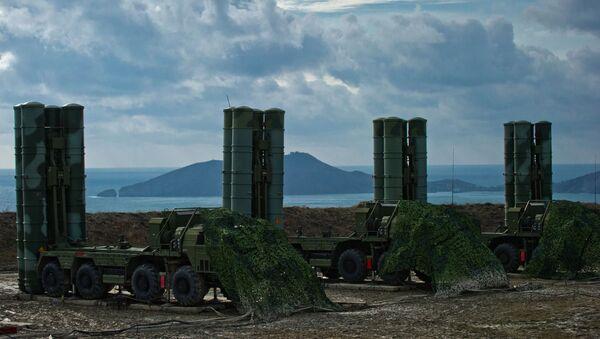 The S-400 Triumph air defense regiment  - Sputnik International