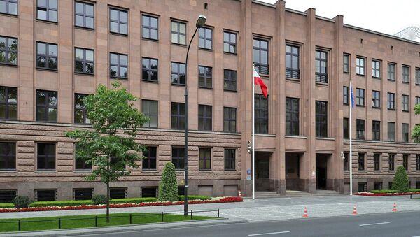 The Polish Foreign Ministry - Sputnik International
