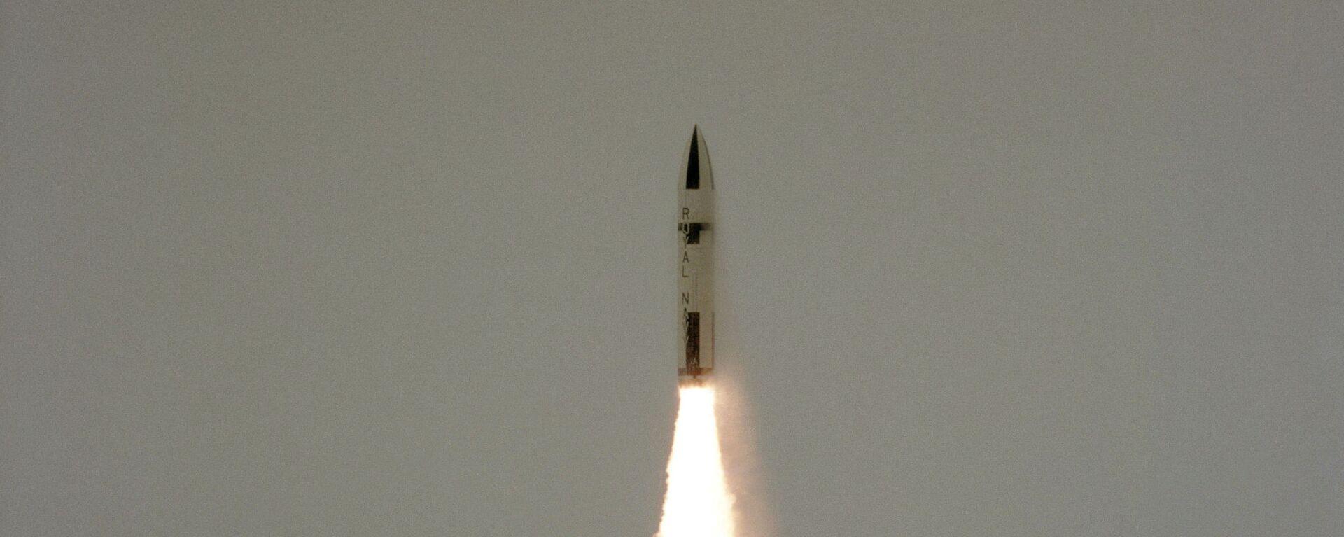 Polaris missile launch from HMS Revenge - Sputnik International, 1920, 18.09.2021
