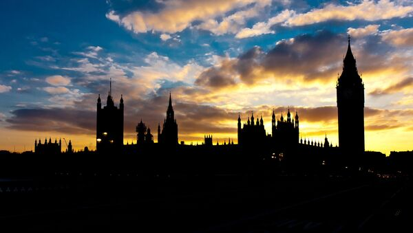 Silhouette of the Big Ben and the Parliament House - Sputnik International
