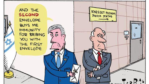 Bibi Seeks Immunity - Sputnik International