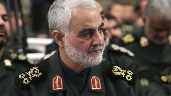 Quds Force, Gen. Qasem Soleimani - Sputnik International