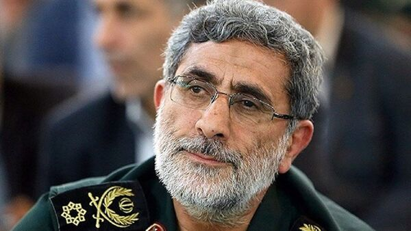 Brigadier General Esmail Ghaani, the newly appointed commander of the country's Quds Force - Sputnik International