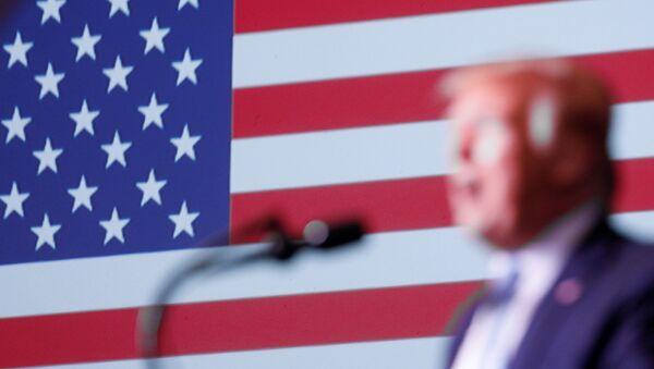 U.S. President Trump delivers remarks at an Evangelicals for Trump Coalition Launch - Sputnik International