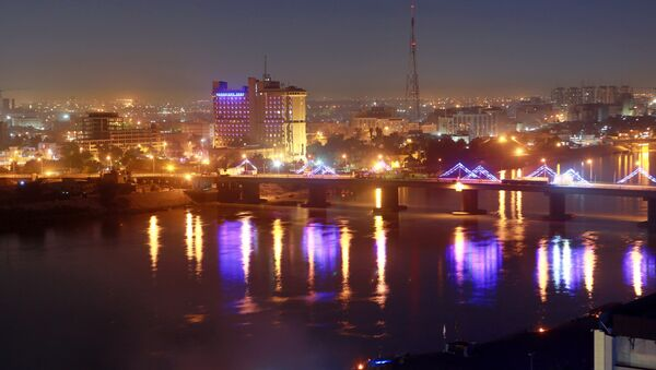 Green Zone government areas in Baghdad, Iraq - Sputnik International