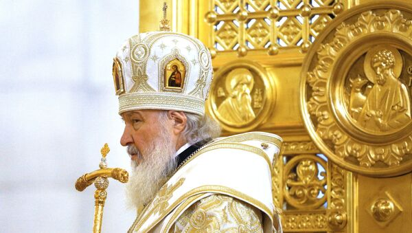 Patriarch of Moscow and All Russia Kirill - Sputnik International