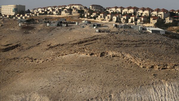 The Israeli settlement of Maale Adumim in the occupied West Bank on the outskirts of Jerusalem - Sputnik International