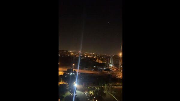 Sirens heard in  Baghdad's Green Zone on 8 January 2020 - Sputnik International