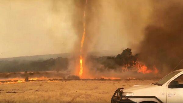 Fiery Twisters Ravage Australia's Kangaroo Island - Sputnik International