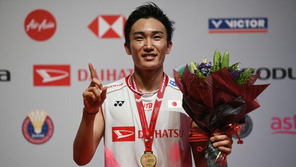 Japan's Kento Momota at the Malaysia Open badminton tournament in Kuala Lumpur  - Sputnik International
