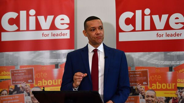 British Labour politician, Member of Parliament (MP) for Norwich South and Labour leadership hopeful Clive Lewis sets out his vision for the party at an event in Brixton, south London on January 10, 2020 - Sputnik International