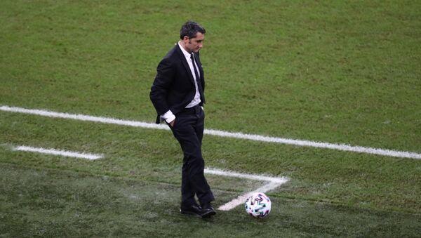 Barcelona coach Ernesto Valverde - Sputnik International
