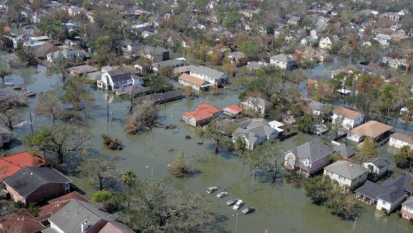 New Orleans in the aftermath of Hurricane Katrina - Sputnik International