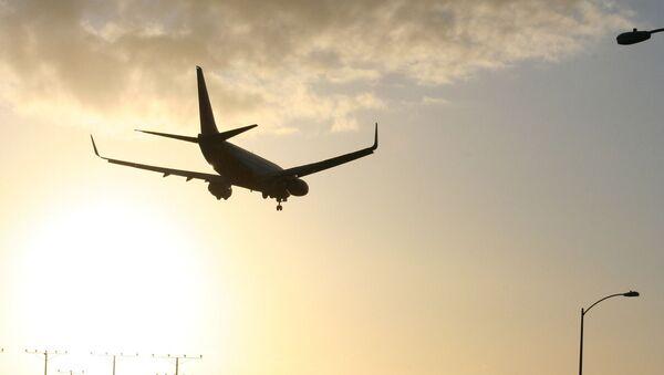LAX plane landing - Sputnik International
