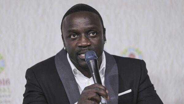 Akon, international music star and Co-Founder of Akon Lighting Africa - Sputnik International