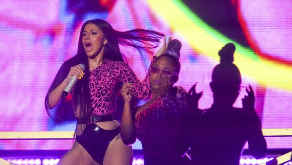 Cardi B performs during the first weekend of the Austin City Limits Music Festival in Zilker Park - Sputnik International