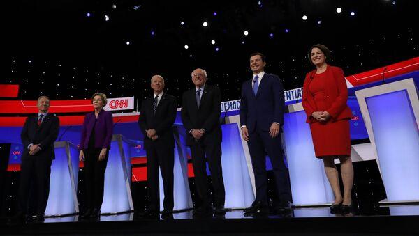 Democratic 2020 U.S. presidential candidates - Sputnik International
