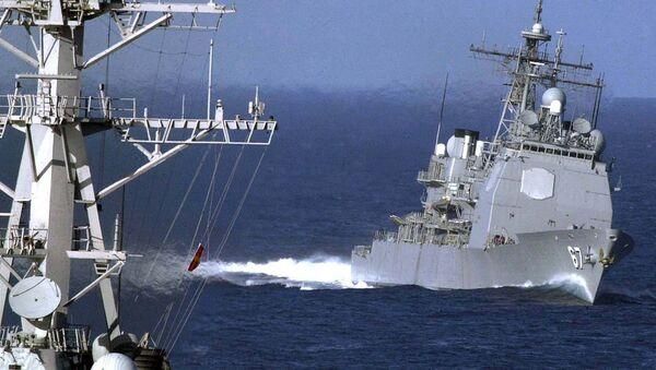 The guided missile cruiser USS Shiloh (CG 67) - Sputnik International