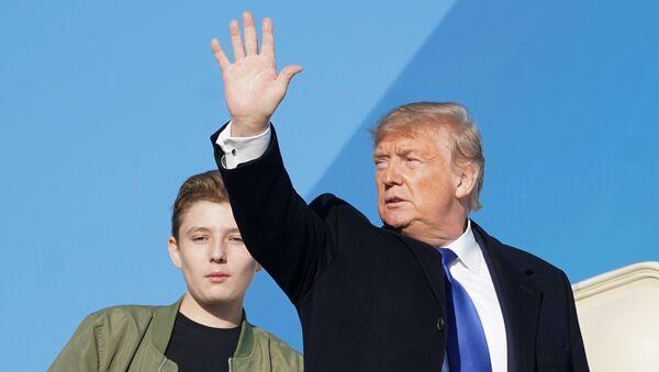 Trump departs Joint Base Andrews in Maryland - Sputnik International
