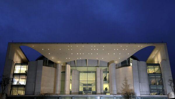 The Chancellery, office building of German Chancellor Angela Merkel - Sputnik International