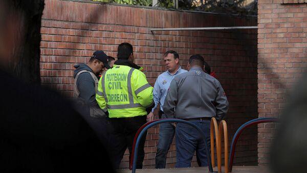 Private school after a shooting in Torreon - Sputnik International