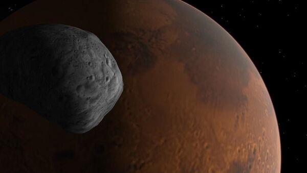 Japan Planning Soil Sampling Mission to Mars' Moon Phobos, Reports Say - Sputnik International