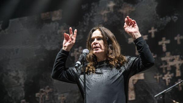 Ozzy Osbourne of Black Sabbath performs at Ozzfest 2016 at San Manuel Amphitheater on September 24, 2016 in San Bernardino, Calif.  - Sputnik International