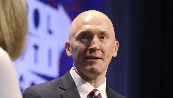 Carter Page at the Los Angeles Convention Centre in Los Angeles - Sputnik International