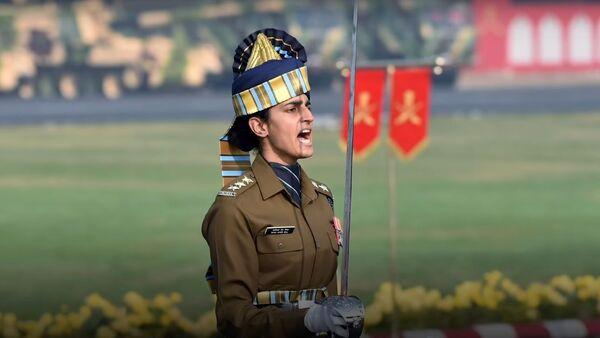 Meet Tania Shergill: India's fourth generation Army officer - Sputnik International