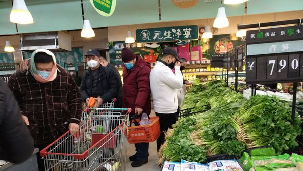 Outbreak of a new coronavirus, in Wuhan, Hubei province, China - Sputnik International