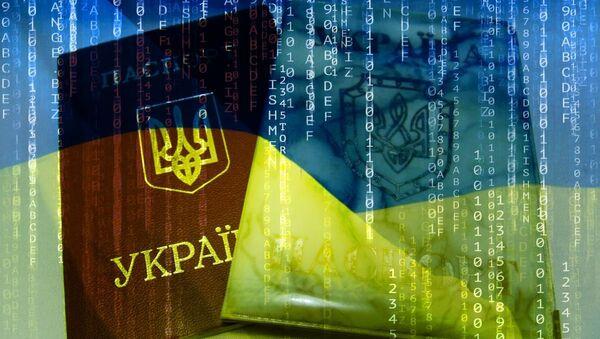 Ukraine Passport - Sputnik International