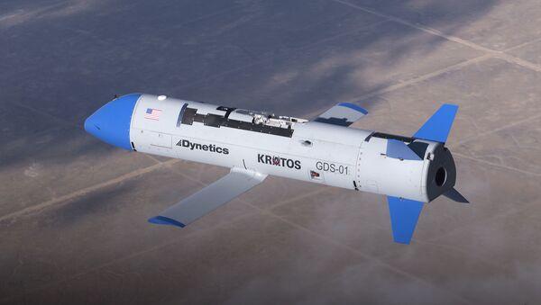 X-61A Gremlins air vehicle during a flight test at Dugway Proving Ground, Utah, November 2019 - Sputnik International