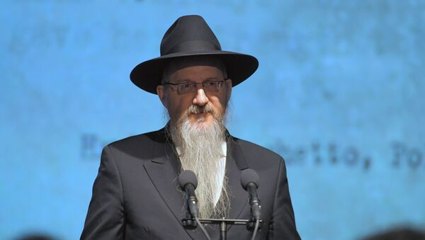 The chief rabbi of Russia, Berl Lazar - Sputnik International