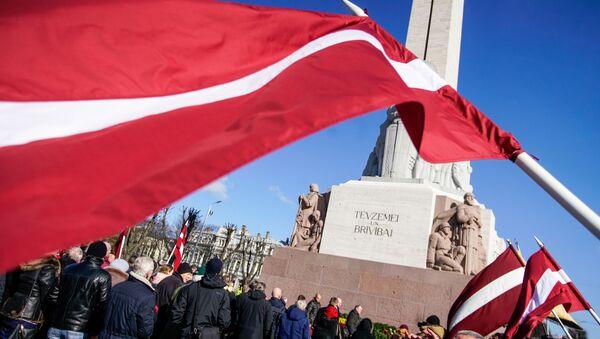 Nazi Veterans Waffen-SS rally in Riga - Sputnik International