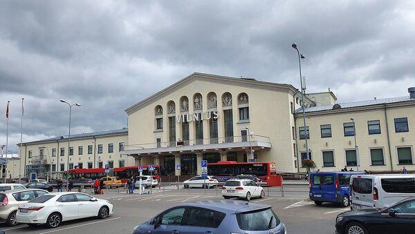 Vilnius Airport main entrance - Sputnik International