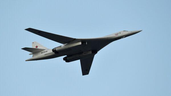 Russian Tu-160 (NATO reporting name: Blackjack) supersonic heavy strategic bomber - Sputnik International