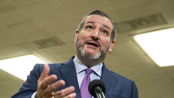 Sen. Ted Cruz, R-Texas - Sputnik International