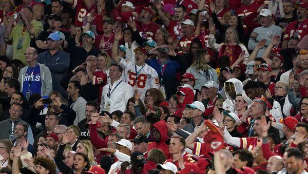 NFL Football - Super Bowl LIV - Kansas City Chiefs v San Francisco 49ers - Hard Rock Stadium, Miami, Florida, U.S. - February 2, 2020. Kansas City Chiefs fans during the game. - Sputnik International