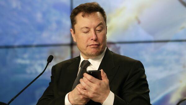 Elon Musk founder, CEO, and chief engineer/designer of SpaceX - Sputnik International