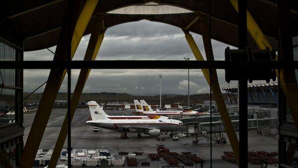 Barajas International Airport in Madrid - Sputnik International