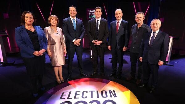 Irish politicians line up for a TV debate - Sputnik International