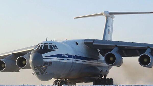 Russian Airplane Evacuating Russians from Wuhan - Sputnik International