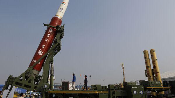 Mission Shakti, an anti-satellite missile, in Lucknow, India - Sputnik International