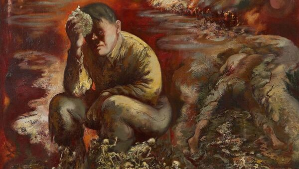 Cain or Hitler in Hell, by George Grosz - Sputnik International