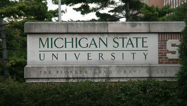 Michigan State University sign - Sputnik International