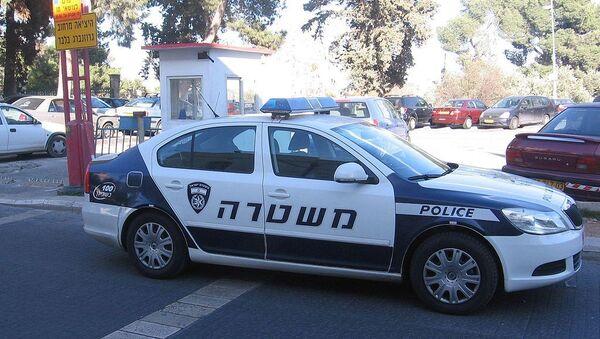 Israel Police squad car - Sputnik International